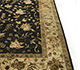 Jaipur Rugs - Hand Knotted Wool and Silk Beige and Brown PX-1300 Area Rug Cornershot - RUG1001050