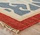 Jaipur Rugs - Flat Weave Wool Blue PX-2088 Area Rug Cornershot - RUG1032937