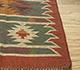 Jaipur Rugs - Flat Weave Jute Red and Orange PX-2109 Area Rug Cornershot - RUG1107058