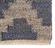 Jaipur Rugs - Flat Weave Jute Blue PX-2124 Area Rug Cornershot - RUG1101272