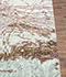 Jaipur Rugs - Hand Knotted Wool and Silk Blue QM-168 Area Rug Cornershot - RUG1064277