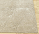 Jaipur Rugs - Hand Knotted Wool and Silk Beige and Brown QM-702 Area Rug Cornershot - RUG1085224