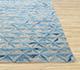 Jaipur Rugs - Hand Knotted Wool and Silk Ivory QM-703 Area Rug Cornershot - RUG1079271