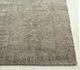 Jaipur Rugs - Hand Knotted Wool and Silk Grey and Black QM-716 Area Rug Cornershot - RUG1069858
