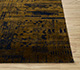 Jaipur Rugs - Hand Knotted Wool and Silk Beige and Brown QM-716 Area Rug Cornershot - RUG1079890