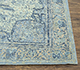 Jaipur Rugs - Hand Knotted Wool and Silk Blue QM-901 Area Rug Cornershot - RUG1077720