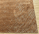 Jaipur Rugs - Hand Knotted Wool and Silk Beige and Brown QM-951 Area Rug Cornershot - RUG1085256