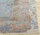 Jaipur Rugs - Hand Knotted Wool and Silk Blue QM-956 Area Rug Cornershot - RUG1079929
