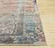 Jaipur Rugs - Hand Knotted Wool and Silk Grey and Black QM-956 Area Rug Cornershot - RUG1083409