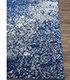 Jaipur Rugs - Hand Knotted Wool and Silk Blue QM-958 Area Rug Cornershot - RUG1061844