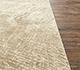 Jaipur Rugs - Hand Knotted Wool and Silk Ivory QM-962 Area Rug Cornershot - RUG1080107