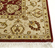 Jaipur Rugs - Hand Knotted Wool and Silk Red and Orange QNQ-02 Area Rug Cornershot - RUG1053938