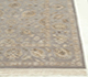 Jaipur Rugs - Hand Knotted Wool and Silk Grey and Black QNQ-03(C-05) Area Rug Cornershot - RUG1023453