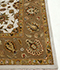 Jaipur Rugs - Hand Knotted Wool and Silk Ivory QNQ-03 Area Rug Cornershot - RUG1086181