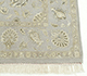 Jaipur Rugs - Hand Knotted Wool and Silk Grey and Black QNQ-03 Area Rug Cornershot - RUG1021922