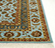 Jaipur Rugs - Hand Knotted Wool and Silk Blue QNQ-06 Area Rug Cornershot - RUG1023480