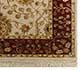 Jaipur Rugs - Hand Knotted Wool and Silk Ivory QNQ-07 Area Rug Cornershot - RUG1042518