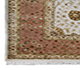 Jaipur Rugs - Hand Knotted Wool and Silk Ivory QNQ-07 Area Rug Cornershot - RUG1054902
