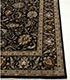 Jaipur Rugs - Hand Knotted Wool and Silk Beige and Brown QNQ-10(CM-01) Area Rug Cornershot - RUG1063558