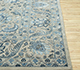 Jaipur Rugs - Hand Knotted Wool and Silk Blue QNQ-10(CM-01) Area Rug Cornershot - RUG1068496