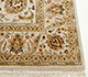 Jaipur Rugs - Hand Knotted Wool and Silk Ivory QNQ-10 Area Rug Cornershot - RUG1023403