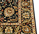 Jaipur Rugs - Hand Knotted Wool and Silk Beige and Brown QNQ-10 Area Rug Cornershot - RUG1062730