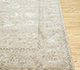 Jaipur Rugs - Hand Knotted Wool and Silk Ivory QNQ-10 Area Rug Cornershot - RUG1075728