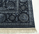 Jaipur Rugs - Hand Knotted Wool and Silk Blue QNQ-21 Area Rug Cornershot - RUG1069067