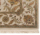 Jaipur Rugs - Hand Knotted Wool and Silk Ivory QNQ-29 Area Rug Cornershot - RUG1041876