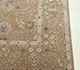 Jaipur Rugs - Hand Knotted Wool and Silk Beige and Brown QNQ-39 Area Rug Cornershot - RUG1066214