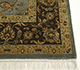 Jaipur Rugs - Hand Knotted Wool and Silk Green QNQ-44 Area Rug Cornershot - RUG1024897