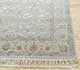 Jaipur Rugs - Hand Knotted Wool and Silk Grey and Black QNQ-44 Area Rug Cornershot - RUG1024932