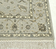 Jaipur Rugs - Hand Knotted Wool and Silk Blue QNQ-44 Area Rug Cornershot - RUG1034726