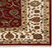Jaipur Rugs - Hand Knotted Wool and Silk Red and Orange QNQ-44 Area Rug Cornershot - RUG1041870
