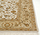 Jaipur Rugs - Hand Knotted Wool and Silk Ivory QNQ-44 Area Rug Cornershot - RUG1035955
