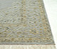 Jaipur Rugs - Hand Knotted Wool and Silk Grey and Black QNQ-53 Area Rug Cornershot - RUG1022321