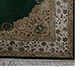 Jaipur Rugs - Hand Knotted Wool and Silk Green QNQ-55 Area Rug Cornershot - RUG1023466