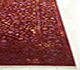 Jaipur Rugs - Hand Knotted Wool and Silk Red and Orange QRA-101 Area Rug Cornershot - RUG1068748