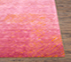 Jaipur Rugs - Hand Knotted Wool and Silk Pink and Purple QRS-951 Area Rug Cornershot - RUG1070516