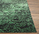 Jaipur Rugs - Hand Knotted Wool and Silk Green QRS-958 Area Rug Cornershot - RUG1070517