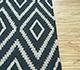 Jaipur Rugs - Flat Weaves Wool Blue SDWL-11 Area Rug Cornershot - RUG1092107