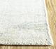 Jaipur Rugs - Hand Loom Wool and Viscose Ivory SHWV-39 Area Rug Cornershot - RUG1100039