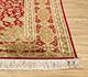Jaipur Rugs - Hand Knotted Silk Red and Orange SKPS-53 Area Rug Cornershot - RUG1093847