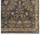 Jaipur Rugs - Hand Knotted Wool and Silk Grey and Black SKRT-503 Area Rug Cornershot - RUG1038584