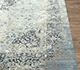Jaipur Rugs - Hand Knotted Wool and Silk Blue SKRT-814 Area Rug Cornershot - RUG1077876