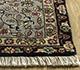 Jaipur Rugs - Hand Knotted Wool Grey and Black SKWL-19 Area Rug Cornershot - RUG1097876