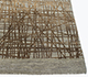 Jaipur Rugs - Hand Knotted Wool and Silk Grey and Black SLA-509 Area Rug Cornershot - RUG1090178