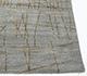 Jaipur Rugs - Hand Knotted Wool and Silk Grey and Black SLA-518 Area Rug Cornershot - RUG1090187
