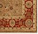 Jaipur Rugs - Hand Knotted Wool Beige and Brown SPR-04 Area Rug Cornershot - RUG1023557