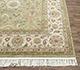Jaipur Rugs - Hand Knotted Wool Beige and Brown SPR-07 Area Rug Cornershot - RUG1075563